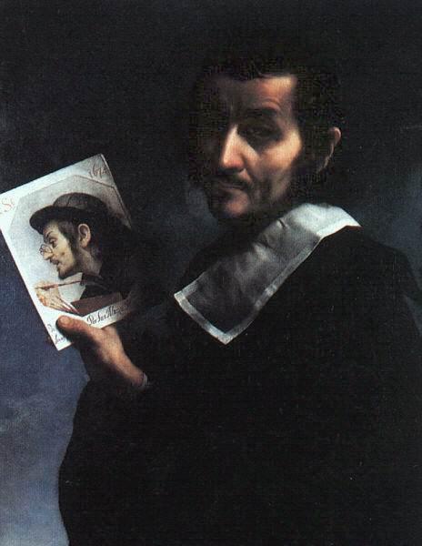 SELF PORTRAIT - 1674 - CARLO DOLCI
